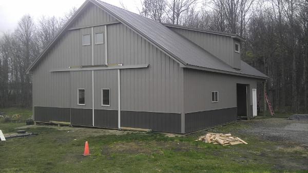 Post Frame Barns Pole Barn Construction Pole Barn Builder