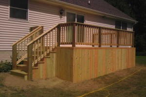 Dundee Pole Barn and Deck Builders