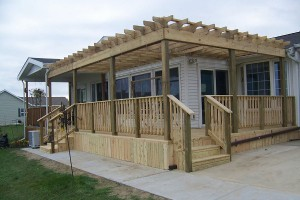 Pergolas, Roofing and Other Construction Services