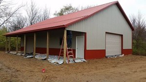 Clarkston MI Pole Barn Construction Company