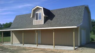 Milan mi southeast michigan builders pole barns post for Home builders southeast michigan